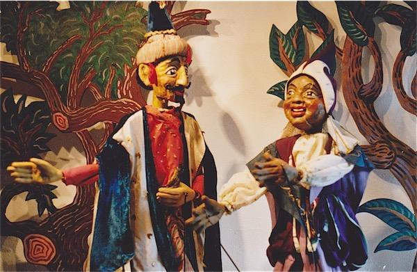 Aladdin en de wonderlamp in Het Nederlands Marionettentheater op 20-5-2017