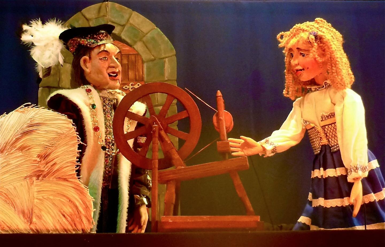 Repelsteeltje in Het Nederlands Marionettentheater op 17-6-2017