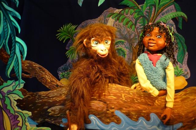 De Wolk van 10 voor 2 in Het Nederlands Marionettentheater op 5-5-2017
